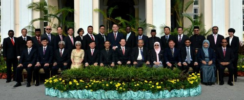 The newly sworn-in councillors who are ready to serve the rakyat.